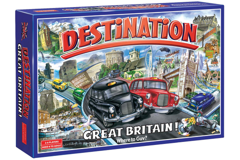 Destination Great Britain Board Game. Review