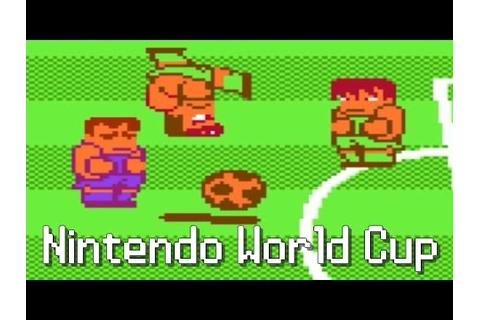 [Rétro Game FR] Nintendo World Cup NES (1990) - YouTube
