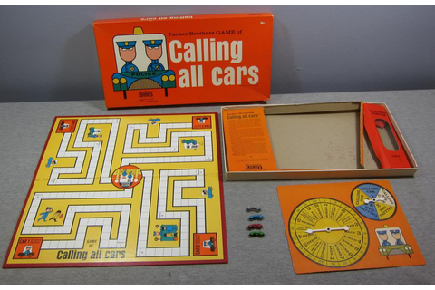 Calling All Cars board game, 3rd edition - Fonts In Use