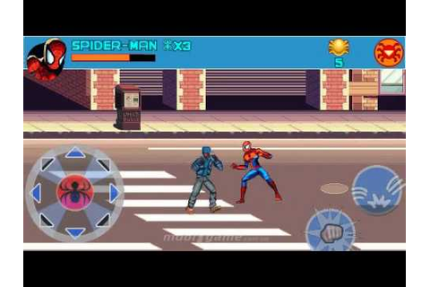 Spider-Man Toxic City mobile java games - YouTube