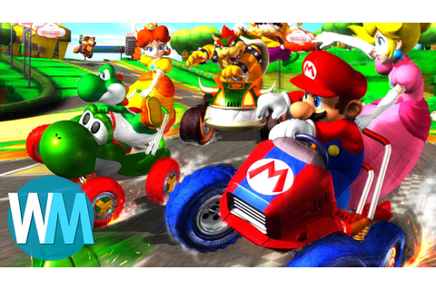 Top 10 Best Mario Kart Games - YouTube