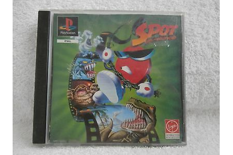 SPOT GOES TO Hollywood Playstation 1 Game Boxed Complete ...