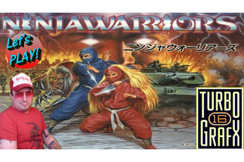 Ninja Warriors on Turbo Grafx 16 at 60FPS - EPIC MUSIC ...