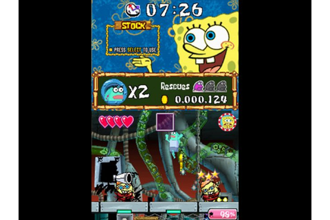 Drawn to Life: SpongeBob SquarePants Edition - NDS - Review