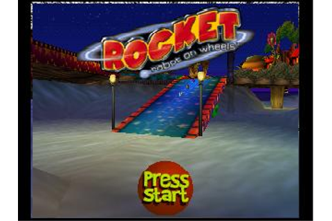 Rocket: Robot on Wheels Nintendo 64 Game