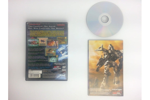 Silent Line Armored Core game for Playstation 2 (Complete ...