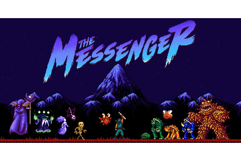 The Messenger on Nintendo Switch Will Scratch Your Ninja ...