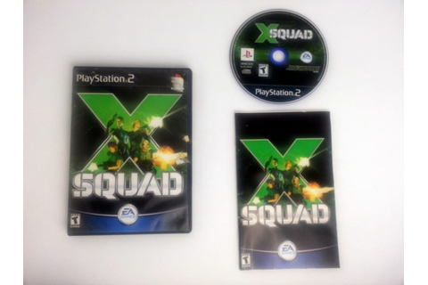 X-Squad game for Playstation 2 (Complete) | The Game Guy
