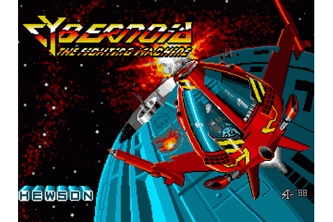 Cybernoid: The Fighting Machine (1988) by Hewson Amiga game