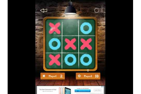 Tic Tac Toe Free Glow - 2 Player Online Multiplayer Board ...