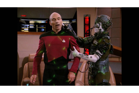 "Picard is kidnapped by the Borg - ""Star Trek The Next ..."