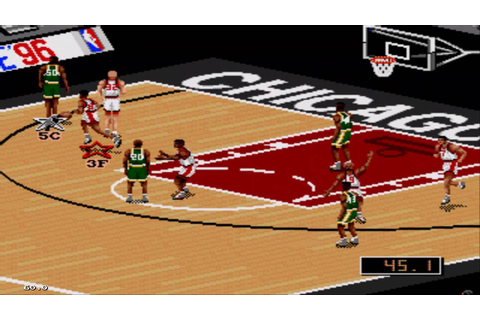 NBA Live 96 Sega Genesis Gameplay HD - YouTube