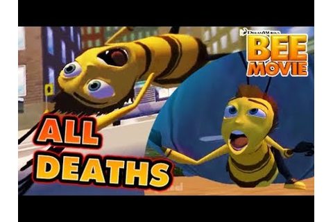 The Bee Movie Game All Deaths | Fail Cutscenes | Game Over ...