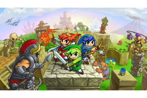 The Legend of Zelda: Tri Force Heroes review | Expert Reviews