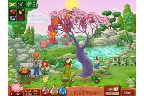 Flora's Fruit Farm (2009) by Honeyslug Windows game