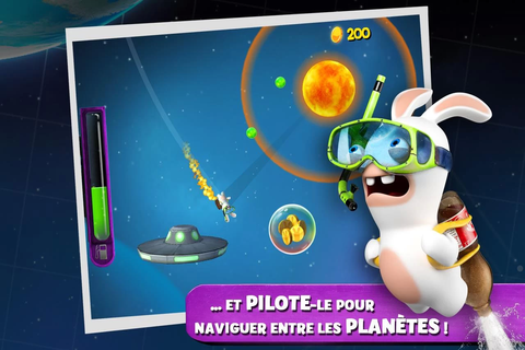 The Lapins Crétins Big Bang sur Android - Android-Zone