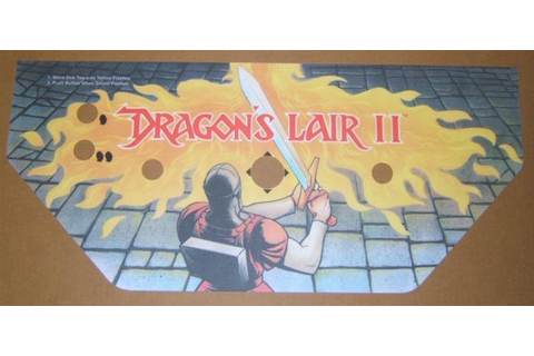 Dragon's Lair II: Time Warp Control Panel Overlay (CPO ...