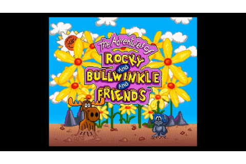 The Adventures Of Rocky And Bullwinkle And Friends Game ...