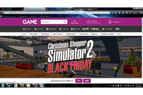how to download christmas shopper simulator 2 - YouTube