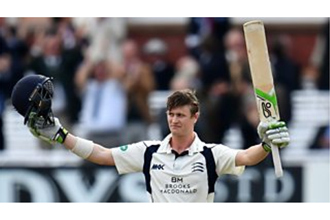 Middlesex v Yorkshire: Nick Gubbins hits sublime century ...