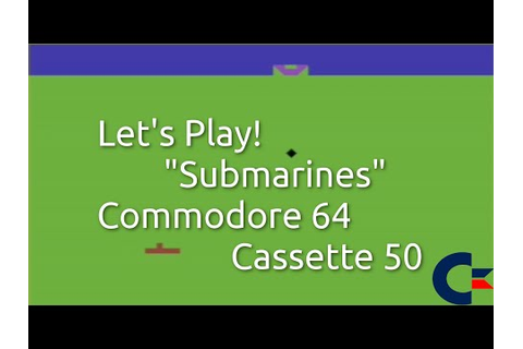 Submarines (Commodore 64 Cassette 50 Game 35)