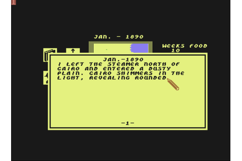 Download Heart of Africa (Commodore 64) - My Abandonware