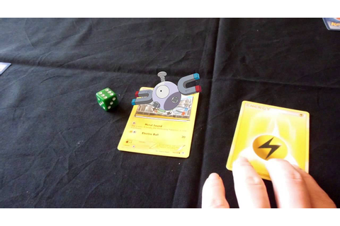Pokémon The Virtual Reality Trading Card Game - YouTube