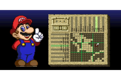 Mario's Super Picross | Super Nintendo | Games | Nintendo