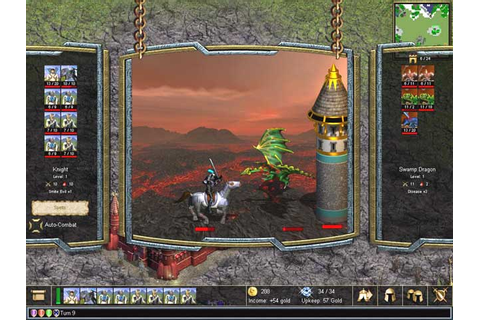 Warlords IV: Heroes of Etheria PC Galleries | GameWatcher