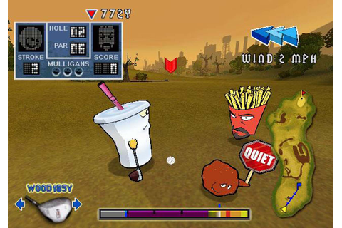 Aqua Teen Hunger Force - Zombie Ninja Pro-Am (USA) ISO