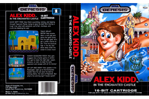 Alex Kidd in the Enchanted Castle | Boxart: Sega Genesis ...