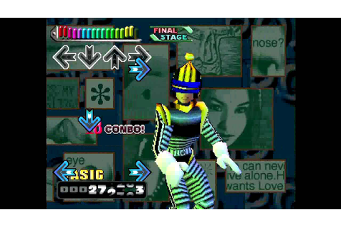 Dance Dance Revolution Konamix (PlayStation) Can't Stop ...