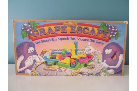 Vintage / Retro 1992 The Grape Escape The Squish 'Em
