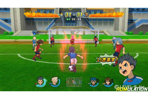 Inazuma Eleven Strikers (Europe) Nintendo Wii ISO Download ...