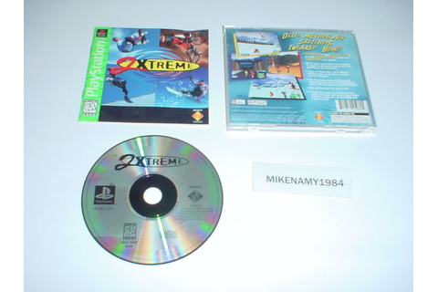 2XTREME game complete w/ Manual - Playstation /PS2 ...