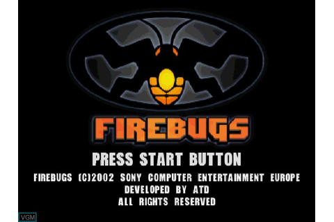 Firebugs for Sony Playstation - The Video Games Museum