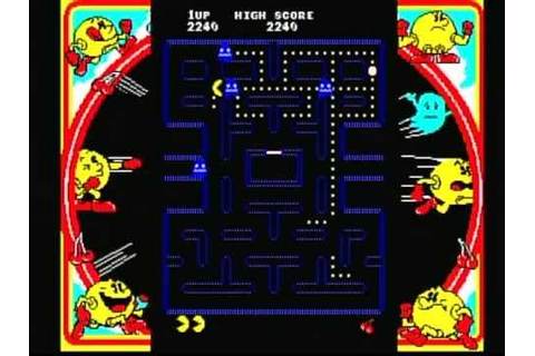 Namco Museum Vol. 1 - Pac-Man (Playstation) Game Play ...