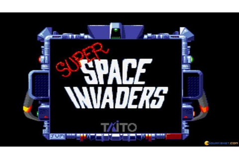 Super Space Invaders gameplay (PC Game, 1991) - YouTube