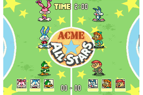 Download Tiny Toon Adventures: Acme All-Stars (Genesis ...