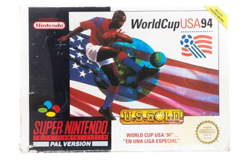 World Cup USA 94 - Super Nintendo [SNES] Game Compleet ...