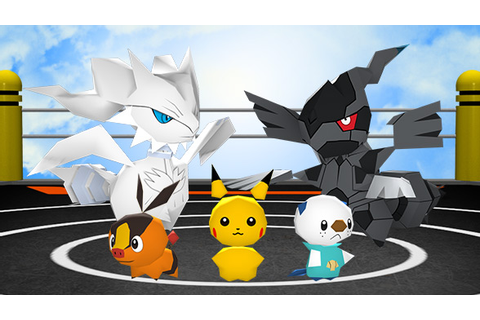 Pokémon Rumble Blast | Pokémon Video Games