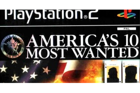 PS2 America's Ten Most Wanted Cheats - Daftar, Review ...