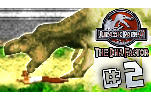 T.rex Eat My Butt! Jurassic Park III The DNA Factor (GBA ...