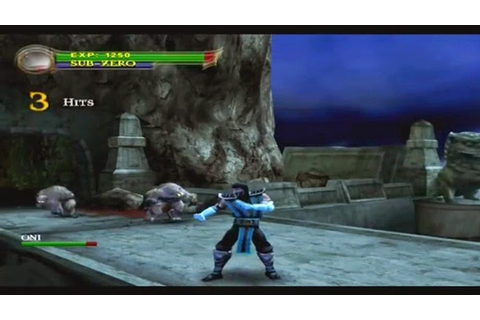 Mortal Kombat: Shaolin Monks PS2 ISO Download | Fully PC ...
