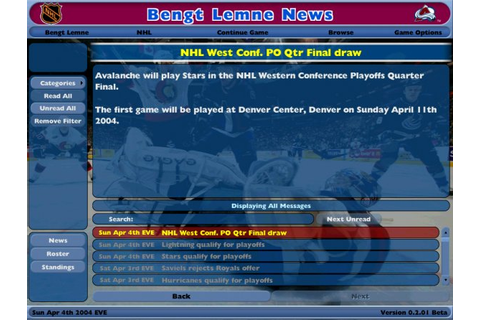 NHL Eastside Hockey Manager Recension - Gamereactor
