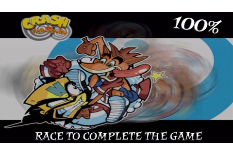 Crash Twinsanity Race To Complete The Game 100% - YouTube