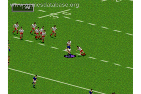 Australian Rugby League - Sega Nomad - Games Database