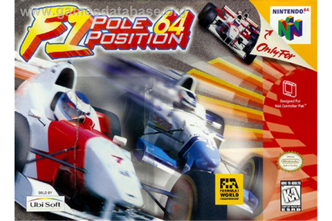 F1 Pole Position 64 - Nintendo N64 - Games Database