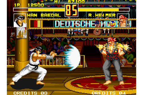 VGJUNK: FIGHT FEVER (NEO GEO)