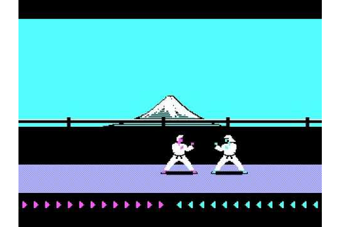 KARATEKA ( MS-DOS - Version for PC ), The forerunner of ...